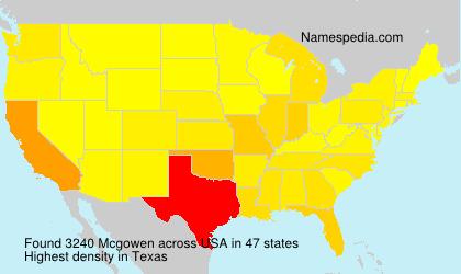 Mcgowen