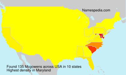 Mcgowens