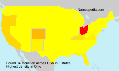 Surname Mcneilan in USA