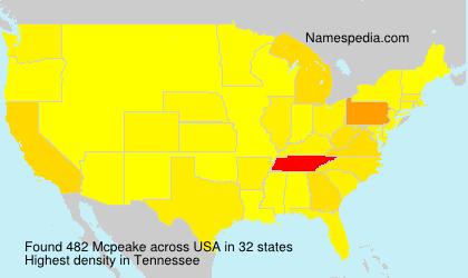 Mcpeake