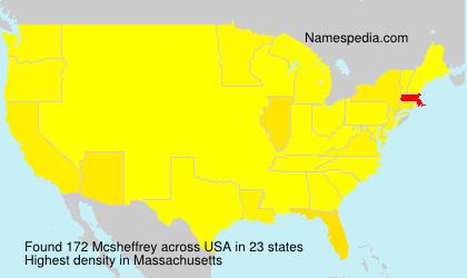 Mcsheffrey