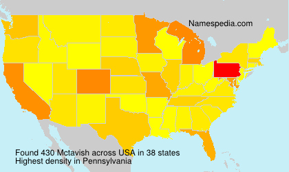 Surname Mctavish in USA