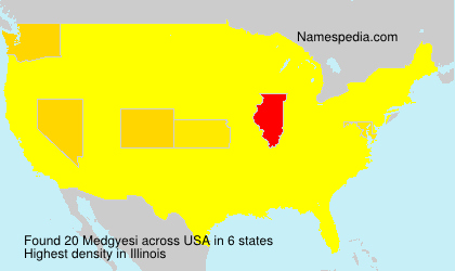 Surname Medgyesi in USA