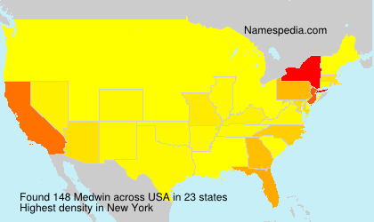 Surname Medwin in USA