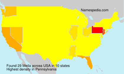 Surname Meila in USA