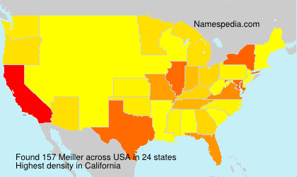 Surname Meiller in USA