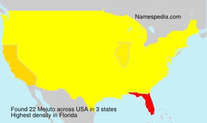 Surname Mejuto in USA