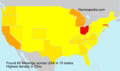 Surname Melampy in USA