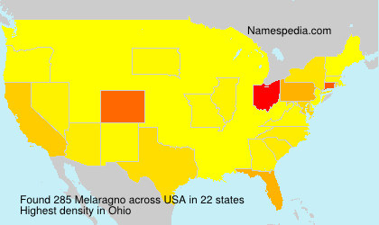 Surname Melaragno in USA