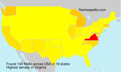 Surname Melki in USA