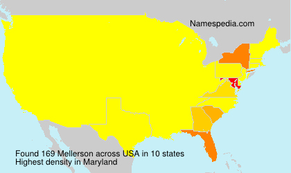 Surname Mellerson in USA