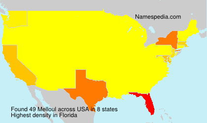 Surname Melloul in USA