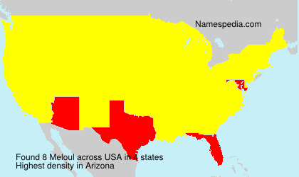 Surname Meloul in USA