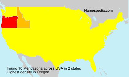 Mendazona - USA