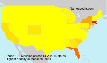 Surname Messias in USA