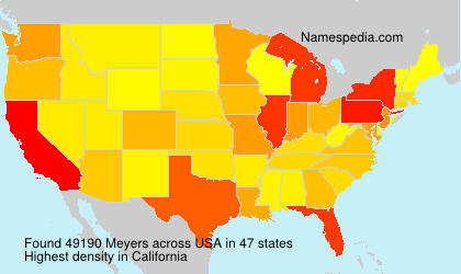Surname Meyers in USA