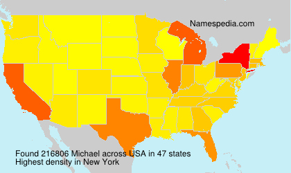 Surname Michael in USA