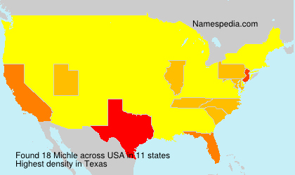 Surname Michle in USA