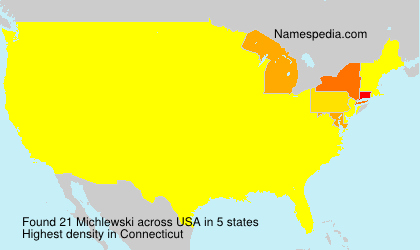 Surname Michlewski in USA