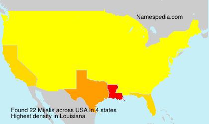 Mijalis - USA