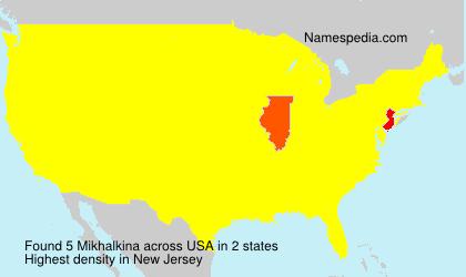 Surname Mikhalkina in USA