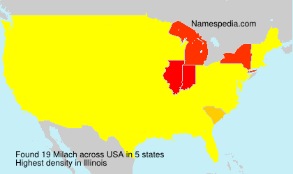 Surname Milach in USA