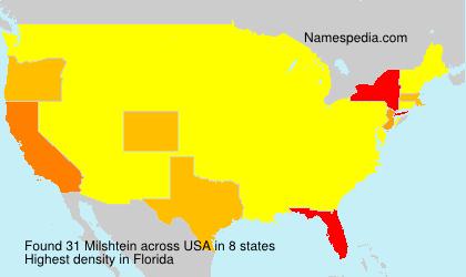 Surname Milshtein in USA