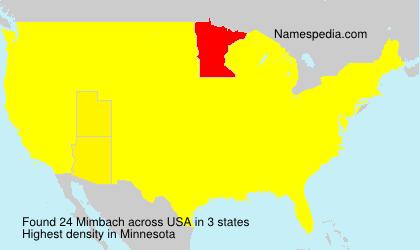 Mimbach - USA