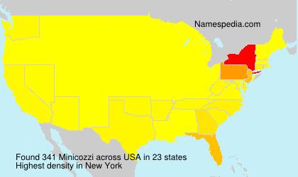 Surname Minicozzi in USA
