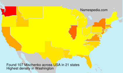 Familiennamen Mischenko - USA