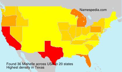 Familiennamen Mishelle - USA