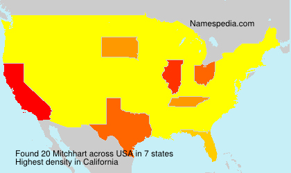 Surname Mitchhart in USA