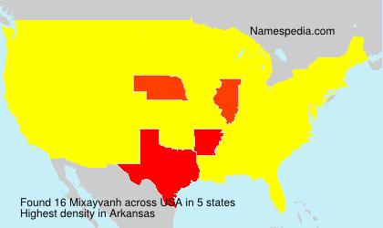 Familiennamen Mixayvanh - USA