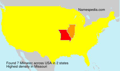 Surname Mlinarec in USA