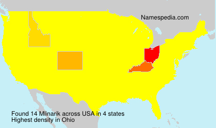 Surname Mlinarik in USA