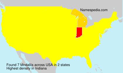 Surname Mndalila in USA