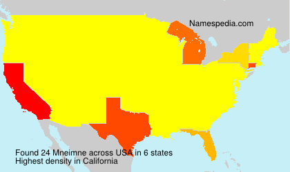 Surname Mneimne in USA