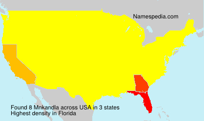 Surname Mnkandla in USA