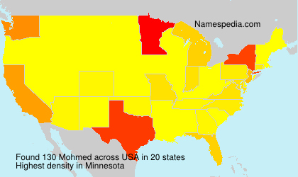 Surname Mohmed in USA