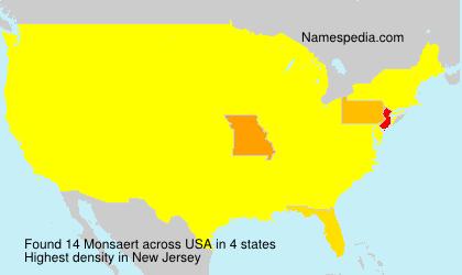 Monsaert - USA