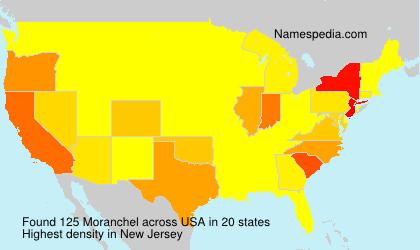 Familiennamen Moranchel - USA