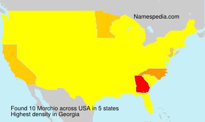 Surname Morchio in USA