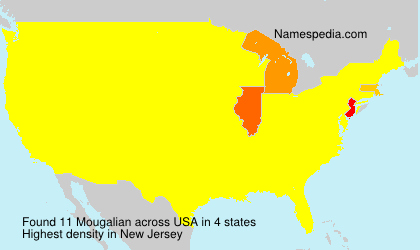 Surname Mougalian in USA
