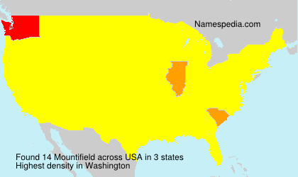 Surname Mountifield in USA