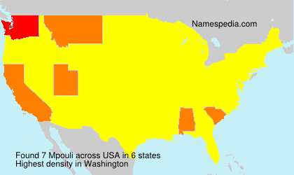 Surname Mpouli in USA