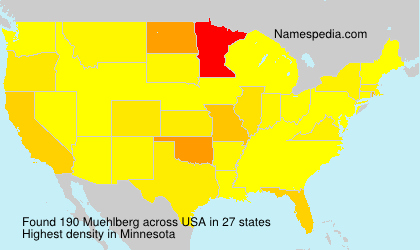 Surname Muehlberg in USA