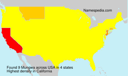 Mungwa - USA
