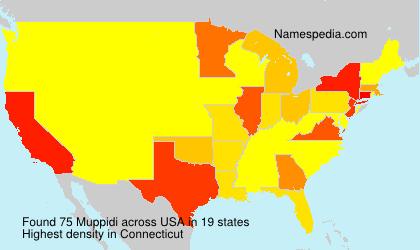 Surname Muppidi in USA