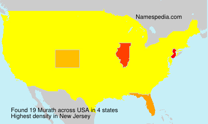 Surname Murath in USA
