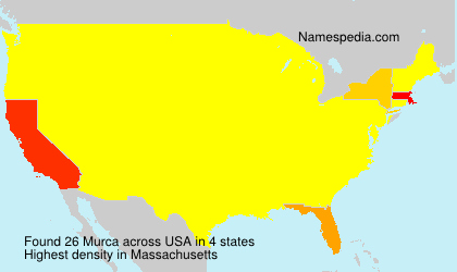 Surname Murca in USA